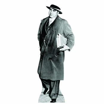 Al Capone Court Uniform Cardboard Cutout