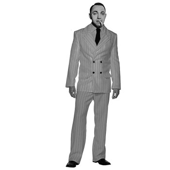 Dutch Schultz Cardboard Cutout - $0.00