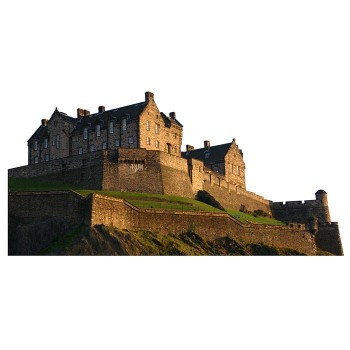 Edinburgh Castle Haunted Cardboard Cutout - $0.00