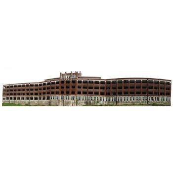 Waverly Hill Sanatorium Haunted Cardboard Cutout - $0.00
