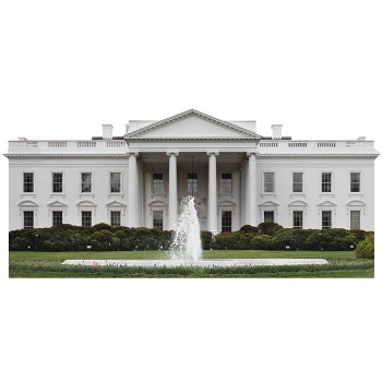 White House United States President Cardboard Cutout - $0.00