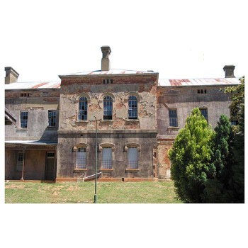 Beechworth Lunatic Asylum Haunted Cardboard Cutout