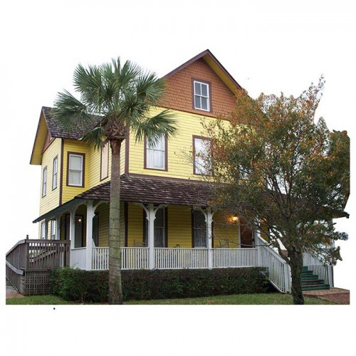 Riddle House Haunted Cardboard Cutout