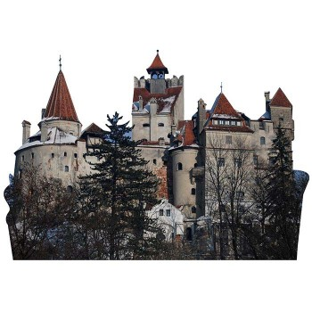Bran Castle Haunted Cardboard Cutout - $0.00