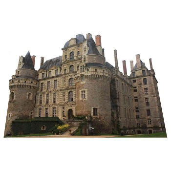 Chateau de Brissac Haunted Castle Cardboard Cutout - $0.00