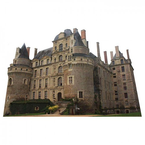 Chateau de Brissac Haunted Castle Cardboard Cutout