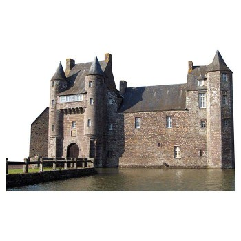 Chateau de Trecesson Haunted Castle Cardboard Cutout - $0.00