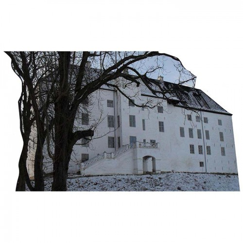 Dragsholm Castle Haunted Castle Cardboard Cutout