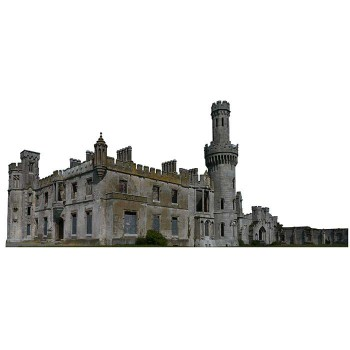 Ducketts Grove Haunted Cardboard Cutout - $0.00