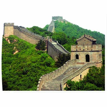 Great Wall of China Cardboard Cutout - $0.00