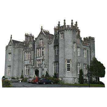 Kinnitty Castle Haunted Cardboard Cutout