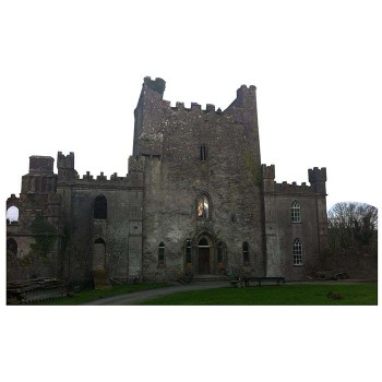 Leap Castle Haunted Cardboard Cutout