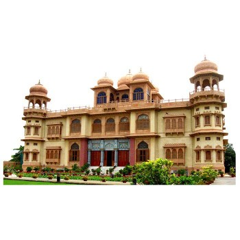 Mohatta Palace Haunted Cardboard Cutout