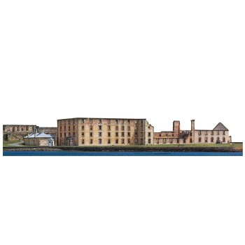 Port Arthur Harbor Haunted Cardboard Cutout - $0.00