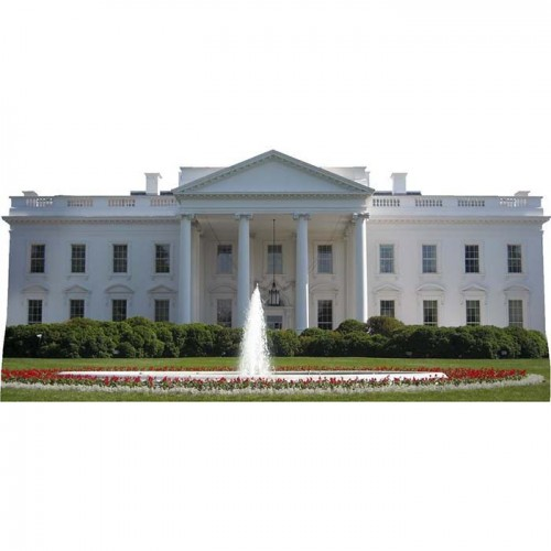 White House Day Cardboard Cutout