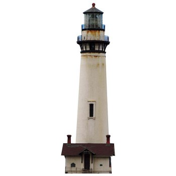 Pigeon Point Lighthouse Cardboard Cutout - $0.00