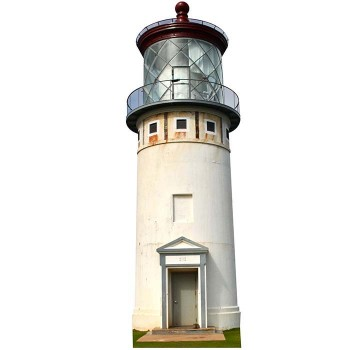Kilauea Point Lighthouse Cardboard Cutout - $0.00