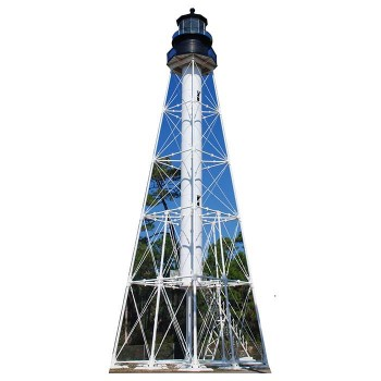 Cap San Blas Lighthouse Cardboard Cutout - $0.00