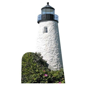 Dice Head Lighthouse Cardboard Cutout - $0.00