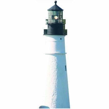 Portland Head Lighthouse Cardboard Cutout - $0.00