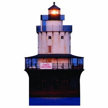 Buzzards Bay Lighthouse Cardboard Cutout - $0.00