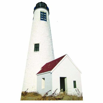 Great Point Lighthouse Cardboard Cutout - $0.00