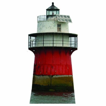 Duxbury Pier Lighthouse Cardboard Cutout - $0.00