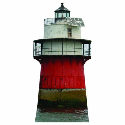 Duxbury Pier Lighthouse Cardboard Cutout