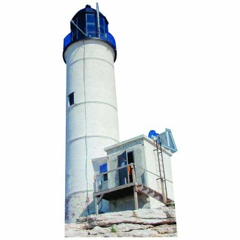 Isle of Shoals Lighthouse Cardboard Cutout - $0.00