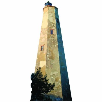 Cape Fear Lighthouse Cardboard Cutout - $0.00