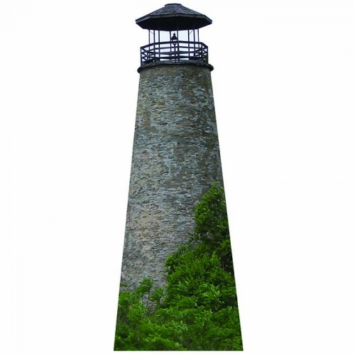 Portland Harbor Lighthouse Cardboard Cutout