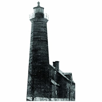 Crown Point Lighthouse Cardboard Cutout - $0.00