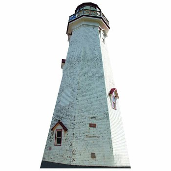 Eastern Point Lighthouse Cardboard Cutout - $0.00
