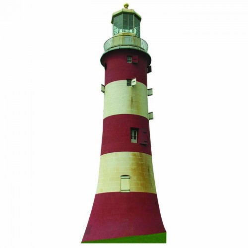 Plymouth Lighthouse Cardboard Cutout
