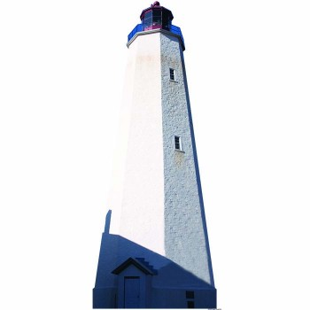 Sandy Hook Lighthouse Cardboard Cutout - $0.00