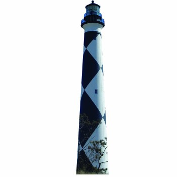 Cape Lookout Lighthouse Cardboard Cutout - $0.00