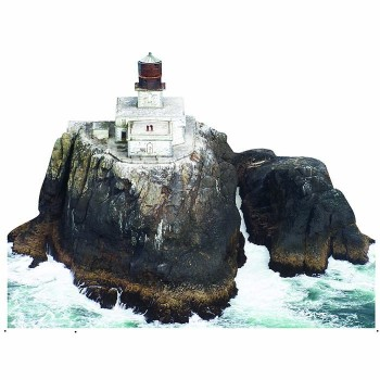Tillamook Rock Lighthouse Cardboard Cutout - $0.00