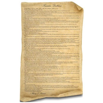 Truman Doctrine Document Cardboard Cutout - $0.00