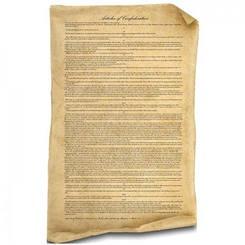 Articles of Confederation Cardboard Cutout