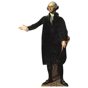 George Washington Cardboard Cutout - $0.00
