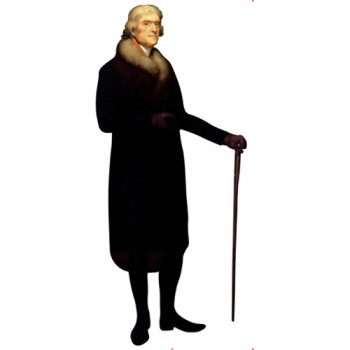 Thomas Jefferson Cardboard Cutout - $0.00