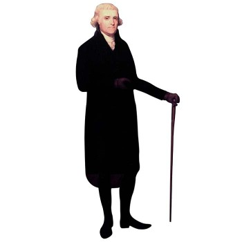 Thomas Jefferson 2 Cardboard Cutout - $0.00