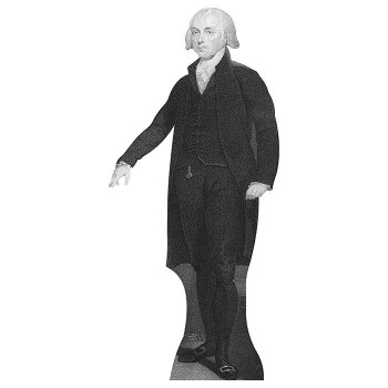 James Madison Cardboard Cutout - $0.00