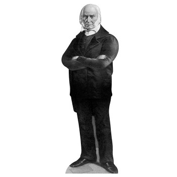 John Quincy Adams Cardboard Cutout - $0.00
