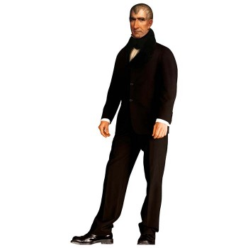 William Henry Harrison Cardboard Cutout - $0.00