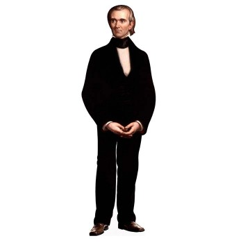 James Polk Cardboard Cutout - $0.00
