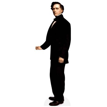 Franklin Pierce Cardboard Cutout