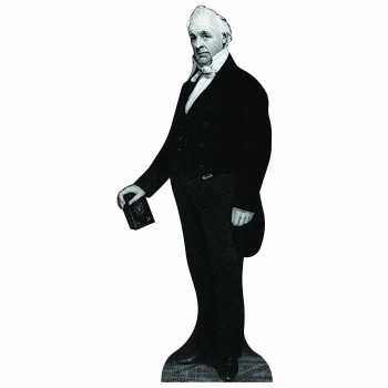 James Buchanan Cardboard Cutout - $0.00
