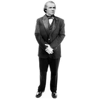 Andrew Johnson Cardboard Cutout - $0.00