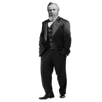 Rutherford Hayes Cardboard Cutout - $0.00